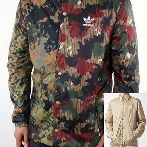 NWOT ADIDAS Pharrell Williams Hiking Camo Jacket